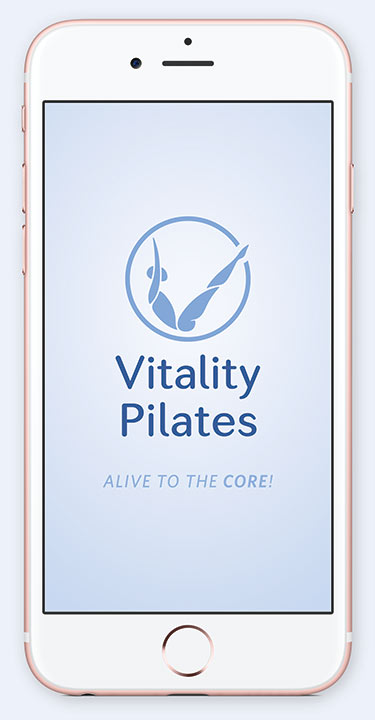 Download the Vitality Pilates app
